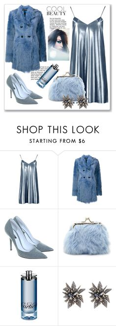 """""""Cool Beauty!"""" by diane1234 ❤ liked on Polyvore featuring Boohoo, Rochas, Dolce&Gabbana, Forever 21, Giorgio Armani, Cartier and Alexis Bittar"""