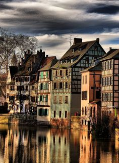 Strasbourg in Alsace, France.