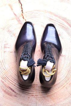 seamless wholecut boot that Antonio Meccariello