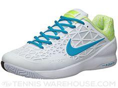 Nike Zoom Cage 2 White/Volt Men's Shoe