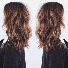 Jolie coupe cheveux long femme