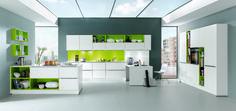 Barevné kuchyně - NOVINKA - Kuchyňské studio - Nostalgi Hořice