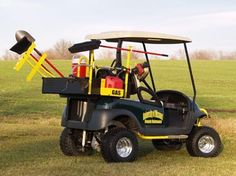 golf cart / utility vehicle - Specialty Products from M Golf Cars