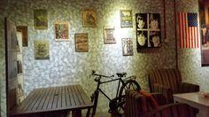 It's a cafe!