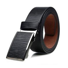 cool New Luxury Men's Business Waistband Smooth Buckle Belt Waist Strap Belts Check more at http://shipperscentral.com/wp/product/new-luxury-mens-business-waistband-smooth-buckle-belt-waist-strap-belts/