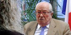 """France. 27 septembre 2014.  Jean-Marie Le Pen se réjouit du retour de Nicolas Sarkozy, """" une chance """" pour Marine Le Pen"""
