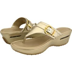 Nice...brushed gold sandal...Cole Haan - Air Maddy Tant Thong