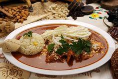 Guelaguetza, Enchiladas