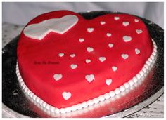 Gateau Saint - Valentin   Sint - Valentijn taart