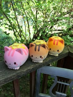 Ibloom Nyan cat squishy collection