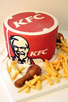 Kfc Cake A Fantastic For Lovers Of The Colonel S Work Does Not