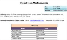 Management Meeting Agenda Template Project Management Workshop  Workshop Agenda Template  Project .