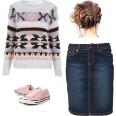 This outfit is adorable and modest! I would for sure wear it!