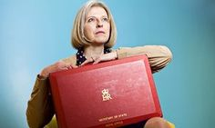 Theresa May Secretary of State with her Home Office red ministerial despatch box Elizabeth Day, Tory Party, David Cameron, It Takes Two, Theresa May, Two Men, Human Rights, Poppies, Public