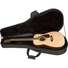 Pro Tec MAX Acoustic Guitar Case ❤ liked on Polyvore featuring music, filler, guitar, home and object
