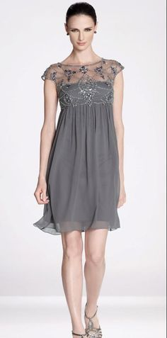 2015 Short Mother Of the Bride Dresses Short Sleeves Beaded Chiffon Cocktail Mother Gowns Hot Sale Mob Dresses, Short Sleeve Dresses, Bridesmaid Dresses, Formal Dresses, Wedding Dresses, Short Sleeves, Dresses Online, Cheap Dresses, Lace Dresses
