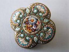 Victorian Italy Micro Mosaic Italy