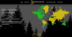 Visit https://www.bogenjagd.de/ to know which countries permitted bowhunting. Create and publish your own interactive maps for your website at https://superstorefinder.net/getsim #adventure #bowandarrow