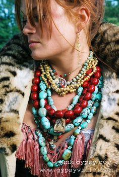 ThatBohemianGirl - Bohemian style from Junk Gypsy Boho Gypsy, Boho Hippie, Gypsy Style, Hippie Style, Bohemian Style, Hipster Outfits, Hippy Chic, Boho Chic, Ethnic Jewelry