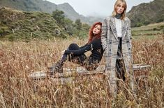 Photographed in the countryside of Valle de Lago in Asturias, Spain, Mango unveils its November 2016 campaign. Marking part three of its fall 2016 advertisements, the images star models Natalie Westling and Edie Campbell. The girls layer up in knitwear styles including turtleneck sweaters, frayed capes and long scarves. Paired with leggings, wide-leg trousers and …
