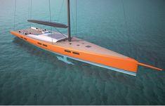 Reichel/Pugh Yacht Design · RP 35m Superyacht