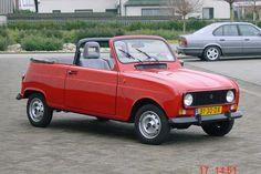 Renault 4 cabrio