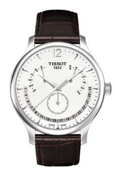 0946a1a8b6fa Reloj Cro Tissot Tradition Perpetual Calendar T0636371603700 Relojes  Caballero