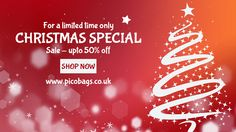 @pico_bags #Christmas #sale starts today! See everything that's available at upto 50% off: