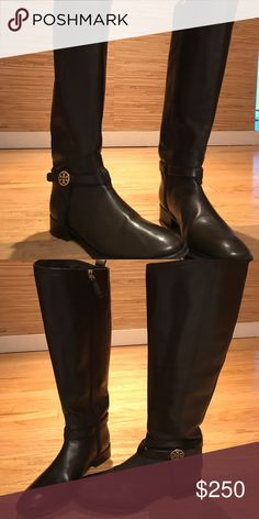 Tory Burch Chocolate Brown Riding Boots Tory Burch Chocolate Brown Riding Boots Tory Burch Shoes