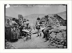 Yarrow allotting relief to Armenian orphans