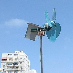 DIY 1000 Watt Wind Turbine : 5 Steps (with Pictures) - Instructables Wind Turbine Cost, Home Wind Turbine, Wind Energy Facts, Solar Power Facts, Windmill Diy, Wind Power Generator, Solar Energy Panels, Solar Panels, Alternative Energy