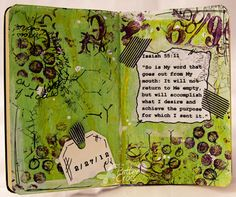 Triple the Scraps: Art Journaling