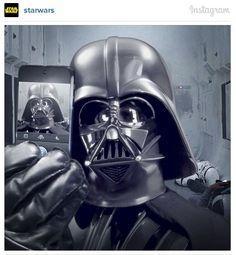 Star Wars Darth Vader #selfie