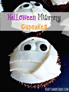 Mummy cupcake recipe