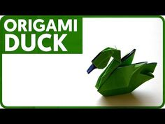 Origami Duck (Hoang Tien Quyet) - YouTube