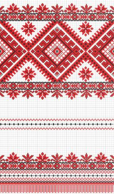 embroidered good like handmade cross-stitch ethnic Ukraine pattern Stock Photo - 8949312 Cross Stitch Borders, Cross Stitch Flowers, Cross Stitch Charts, Cross Stitch Designs, Cross Stitching, Cross Stitch Patterns, Folk Embroidery, Cross Stitch Embroidery, Embroidery Patterns