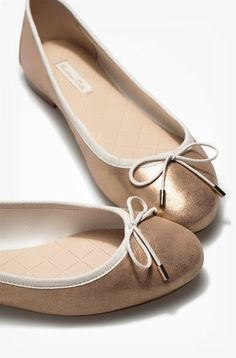 PATENT BALLERINA - Flat shoes - Shoes - WOMEN - United States