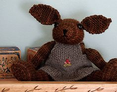 Ravelry: AliciaPaulson's Dorie  knited toy rabbit