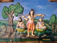 The Story of Shravan Kumar Royal Time, Boy Crying, Moral Stories, Stories For Kids, Pilgrimage, Mythology, Children, Animals, Young Children