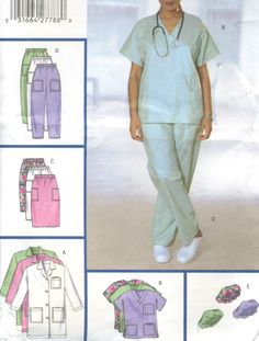 I either live in sleep wear or scrubs. On the list of patterns to get: new scrubs