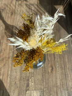 Refitting the shop for our opening in June and trying our dried floral arrangements for sale
