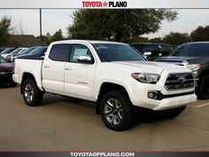 New 2017 Toyota Tacoma Limited V6 Truck Double Cab near Dallas, TX