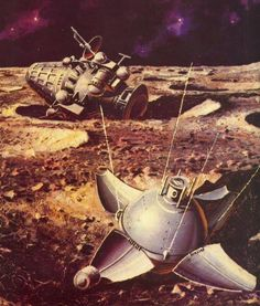 On February 3rd, 1966 the Luna 9 spacecraft became the first spacecraft to achieve a soft landing on the Moon.