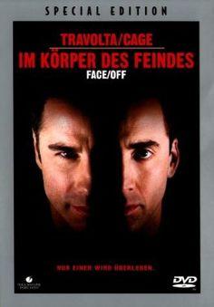 Face Off Im Körper des Feindes  1997 USA      Jetzt bei Amazon Kaufen Jetzt als Blu-ray oder DVD bei Amazon.de bestellen  IMDB Rating 7,3 (173.759)  Darsteller: John Travolta, Nicolas Cage, Joan Allen, Alessandro Nivola, Gina Gershon,  Genre: Action, Crime, Thriller,  FSK: 16