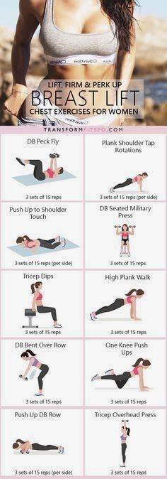 16 Intense Chest Workouts That Will Lift & Firm Up Your Chest! 16 Intense Chest Workouts That Will Lift & Firm Up Your Chest! – TrimmedandToned Related Post Free Printable Fitness Planner 10 Week No-Gym Home Workout Plan That Burns Fat Gu. Fitness Workouts, Fitness Motivation, Yoga Fitness, At Home Workouts, Fitness Tips, Health Fitness, Fitness Plan, Workout Exercises, But Lifting Exercises