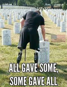 ❤❤❤.  Memorial Day.... It's not about the grilling, the parties, or the fireworks. Its about the men and women who serve, and have served. God Bless you all! Thank You.