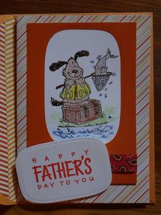 Father's Day card I made