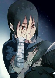 Brotherlove. Itachi was always protecting Sasuke and he had to suffer. So many many times.