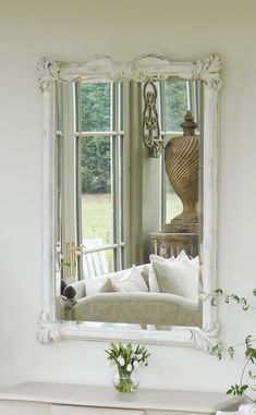Stylish mirror beautifully hand carved from Italian designers Chelini. Conservatory Lighting, Conservatory Interiors, Conservatory Furniture, Devon House, Italian Designers, Hand Carved, Carving, Indoor, Colours