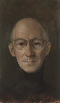 Portrait de Marcel Jouhandeau – Leonor Fini 1962
